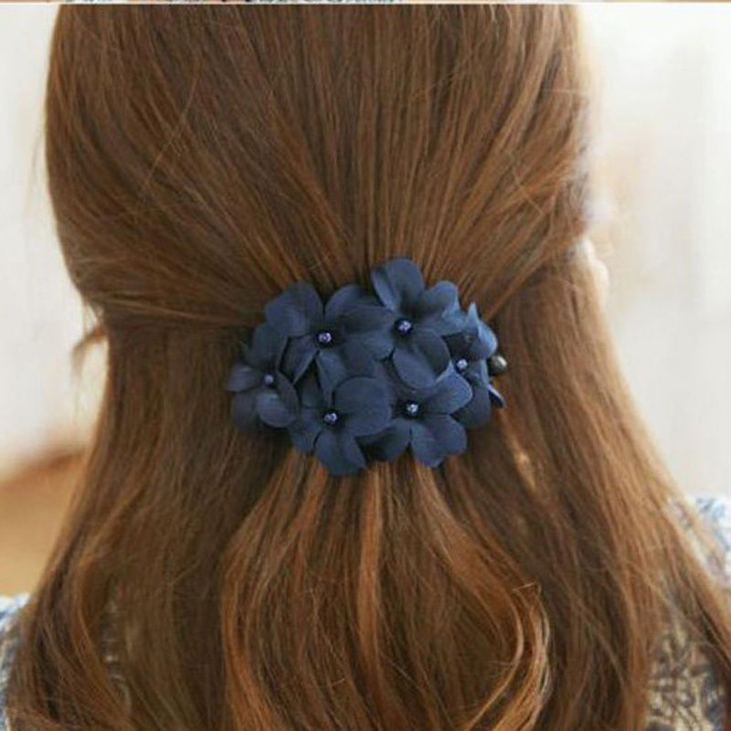 1 PCS Hot Sale Great Handmade Women Girl Flower Banana Barrette Hair Clip Hair Pin Claw Hearwear Head Wear(China (Mainland))