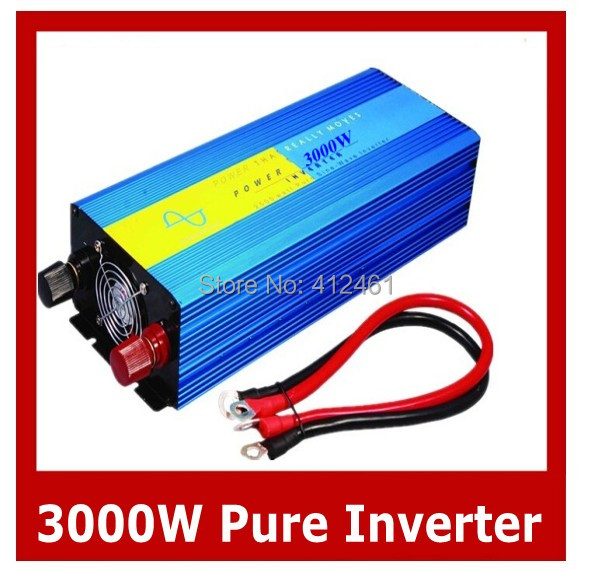 Pure Sine Wave Inverter 3000W specially design to power motor, air-conditioner, refrigerator etc inductive loads(China (Mainland))