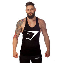 Buy Big Gyms Tank Top Men Bodybuilding stringer Gyms Shark Brand sclothing Fitness Mens Singlet Sleeveless shirt Workout Clothes for $3.86 in AliExpress store