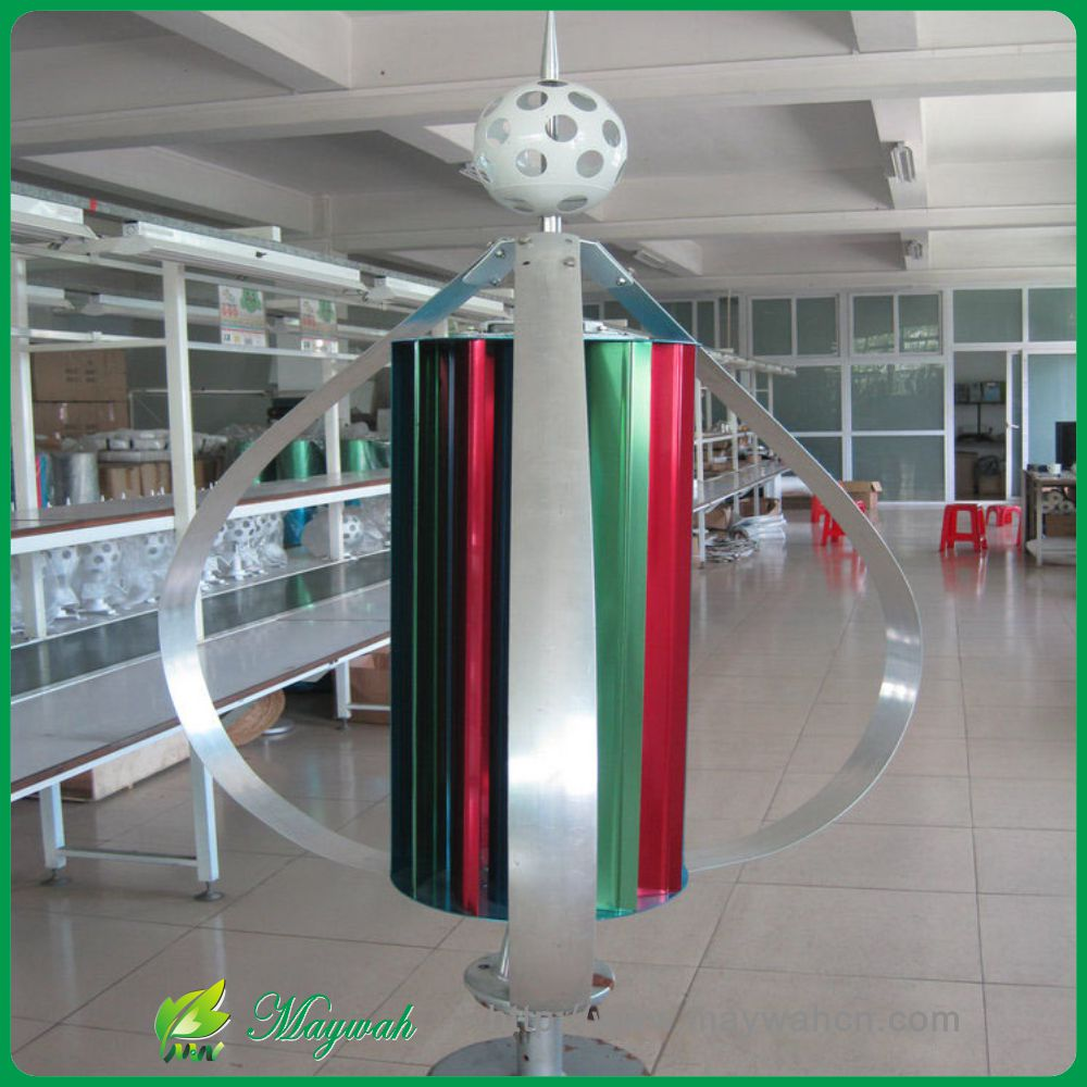 DECEN@ 12V/24V400W High Efficiency Vertical Wind Turbine Generator Low noise Low Start Wind Speed ,Dantian 12 leaf outer 3 leaf(China (Mainland))