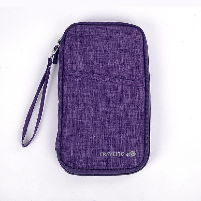 Waterproof travel passport bag multifunctional document package passport holder book wallet card holder storage bag with handle(China (Mainland))