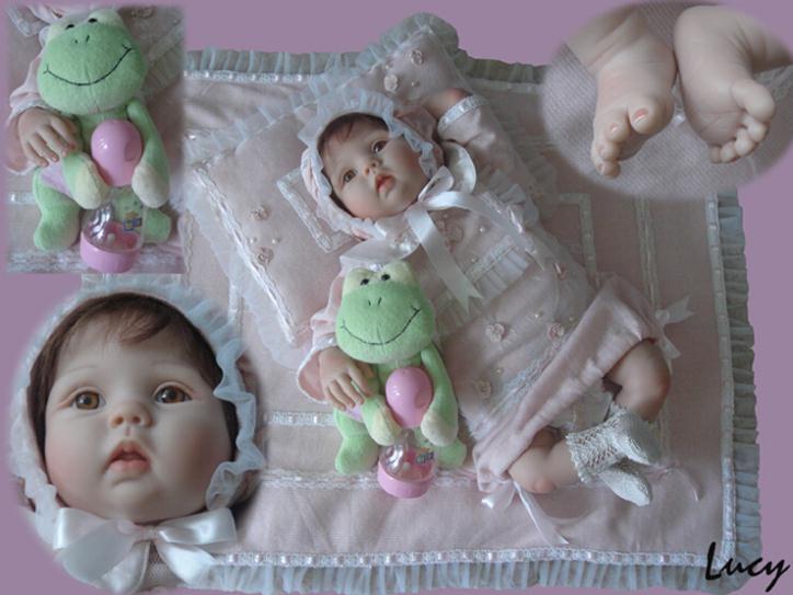 16478678. Купить 2014 New commodity, 55cm pink silicone reborn baby dolls, birthday gift for child