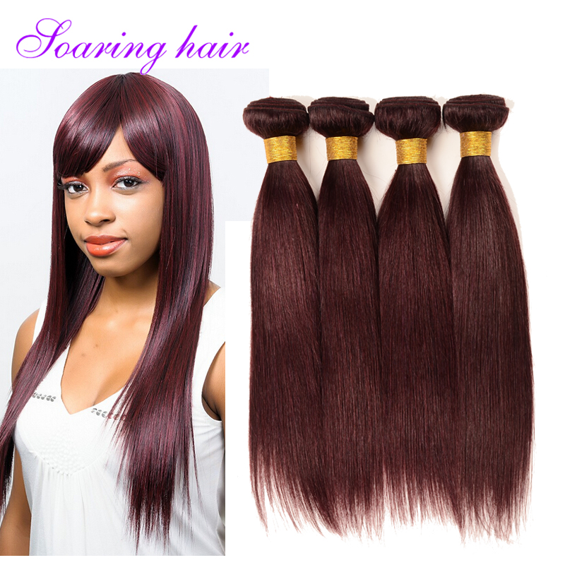 color 99j# peruvian virgin hair straight burgundy christmas black friday 100% cheap human peruvian hair straight free shipping<br><br>Aliexpress