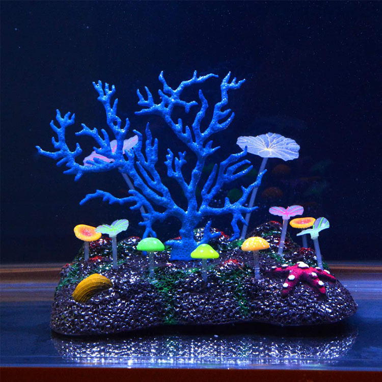 Fish tank decorations large large aquarium decorations for Aquarium decoration online