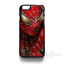 For iphone 4/4s 5/5s 5c SE 6/6s 7 plus ipod touch 4/5/6 back skins mobile cellphone cases cover SPIDER MAN SUPER HERO