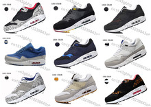 2015 Free Shipping AIR 87 Mens Running Shoes Cheap New Style 87 Outdoor Athletic Shoes Max Size 46
