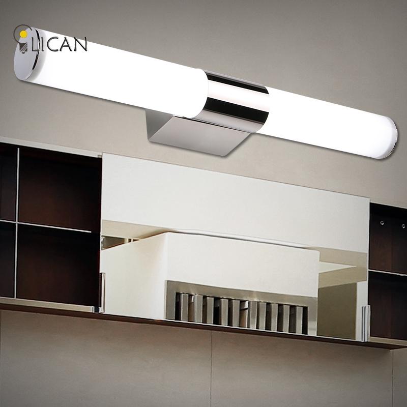 w w w luces de espejo de bao led impermeable luces delanteras del