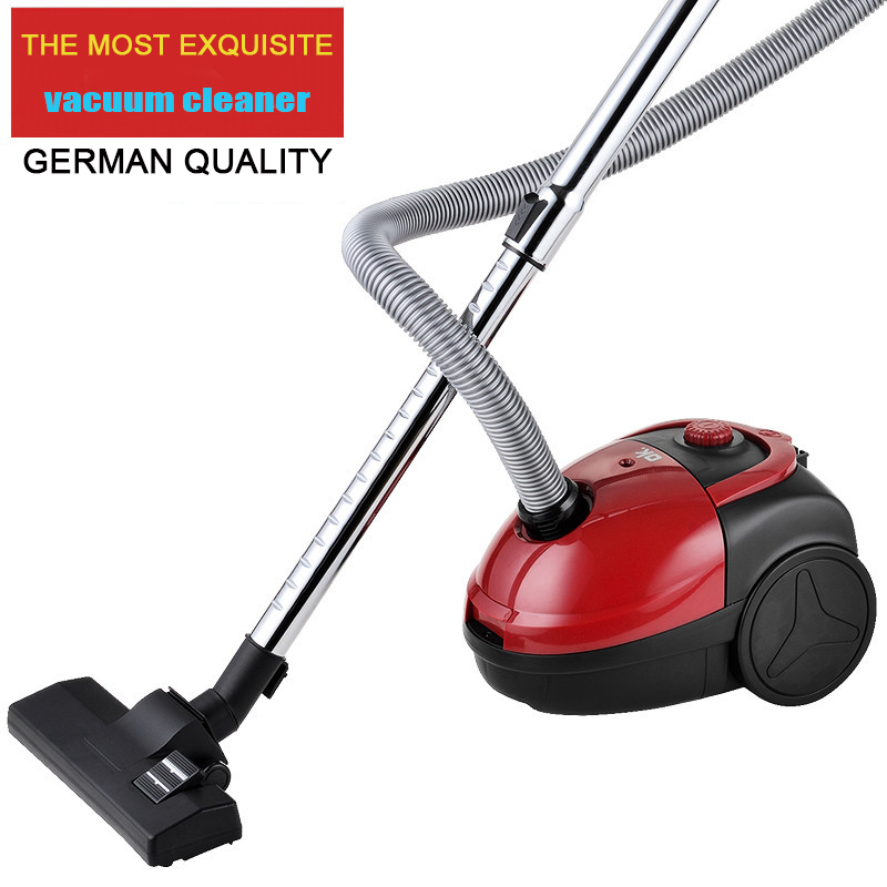 Portable Push Rod Vacuum Cleaner Ultra Quiet Hand Vacuum Cleaners Intelligent Dust Collector Automatic line Aspirator Bagged(China (Mainland))