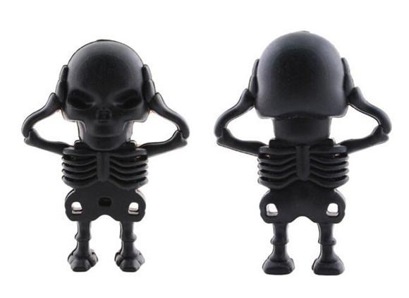 USB flash drive Cranial skeleton head USB Flash 2.0 Memory Drive Stick S320pendrive(China (Mainland))