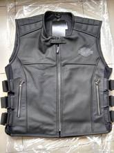 Leisure leather vest vest mesh breathable 97108(China (Mainland))