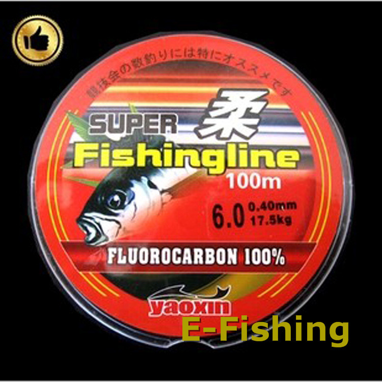 Hot Sell!! Free Shipping pesca Super fishing line 50m Monofilament Strong Quality 100% Good Nylon Fishing Line Fluorocarbon(China (Mainland))