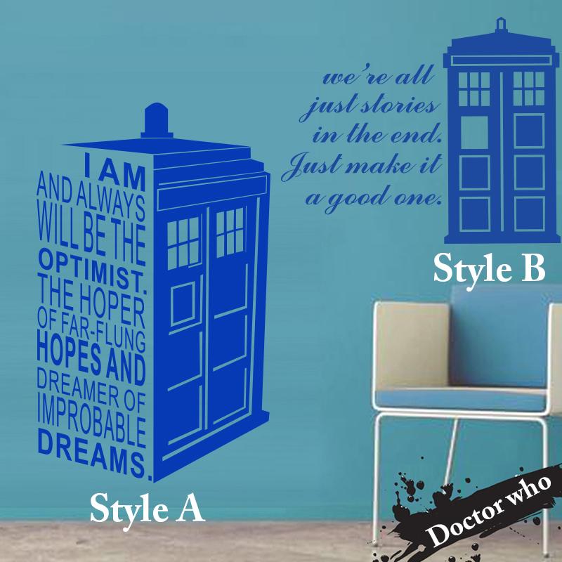 Art Design Home Decoration Dr Who Cheap Vinyl Popular