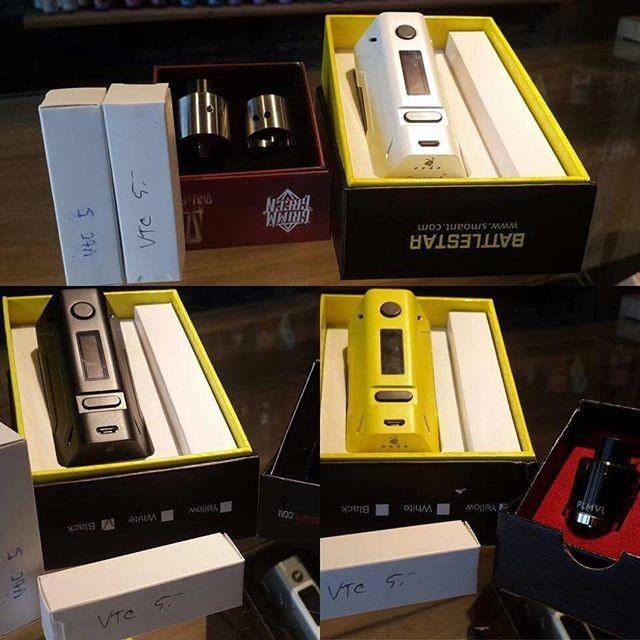 ถูก 2ชิ้น/ล็อต100%เดิมSmoant B Attlestar 200วัตต์VW/TC OLEDกล่องพอควรคู่18650บุหรี่อิเล็กทรอนิกส์โหมดVaporizerสำหรับRDA RBAถัง