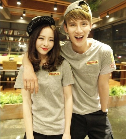 Summer New Korean Style Couple
