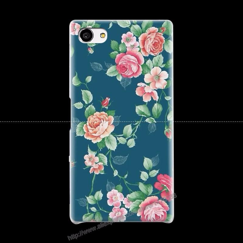 Горячие Новые Пластиковые Матовый Прозрачный Чехол для Sony Xperia Z5mini телефон 15