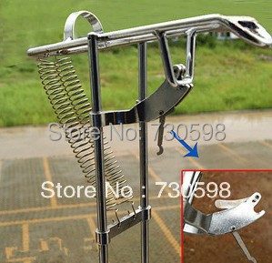 Sale automatic double spring angle pole fish pole bracket for Sa fishing promo code free shipping