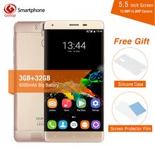 Buy Original OUKITEL K6000 Pro Smartphone MTK6753 Octa Core Android 6.0 3GB RAM 32GB ROM 5.5 Inch Screen 13.0MP 6000mAh Mobile Phone for $136.99 in AliExpress store