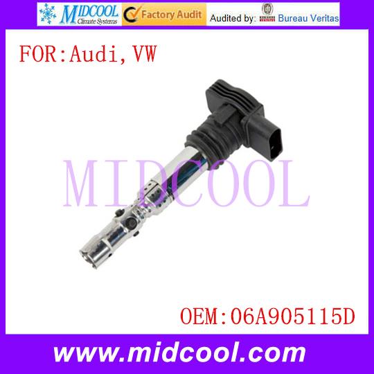 Новый катушка зажигания использования OE no. 06A905115D для Audi A4 A6 TT VW Beetle гольф Jetta Passat