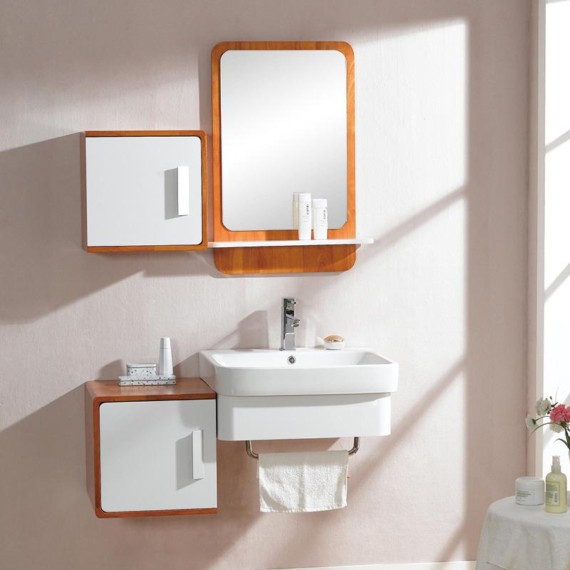 Popular birch bathroom cabinets buy cheap birch bathroom for Hanging bathroom cabinet