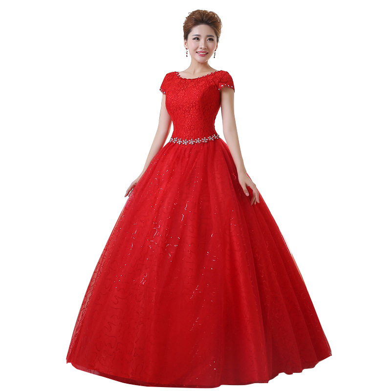 Fast shipping 2016 real sample custom plus size wedding for Vintage ball gown wedding dresses