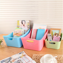 Buy Candy color storage boxes multi-functional desktop boxes Rectangular box sundry storage box plastic home use storage container for $8.90 in AliExpress store