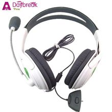 New Headphones Earphones Gaming Headset For XBOX 360 PC Computer Noise Isolating Auriculares Fones De Ouvido Casque A Ecouteurs(China (Mainland))
