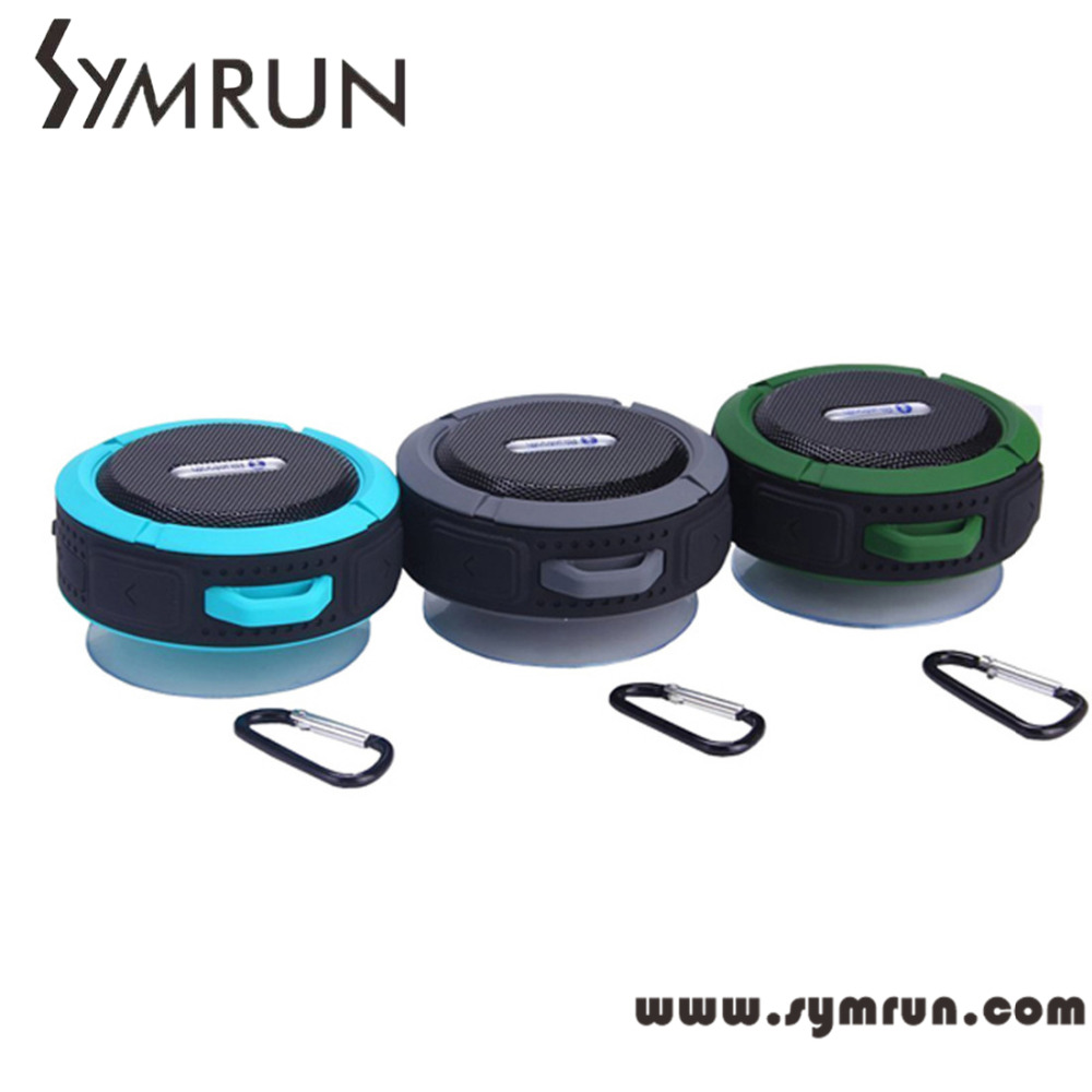 Symrun Hifi C6 Sport Outdoor Mini Sound Wireless Bluetooth Speaker Aux Usb Portable bluetooth speaker module(China (Mainland))
