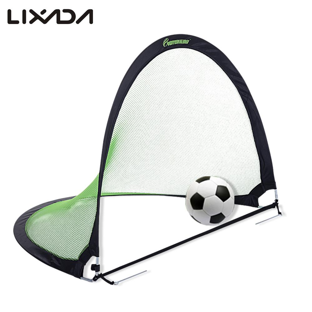 Portable Folding Soccer Goal Child Portable Indoor Outdoor Sports Ball Goals Family Game Kids Pop Up Soccer Goal for Sports(China (Mainland))