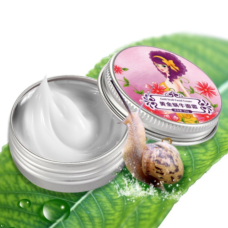 2014 hot sale AFY Snail Face Cream For Face Care Acne Anti Wrinkle Superfine skin care Moisturizing Anti-Aging Whitening Cream(China (Mainland))