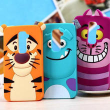 fashion soft silicone 3d cute cartoon sulley cat tiger design phone cover LG G2 D802 G3 D855 - Sevan's Digital accessories shop store