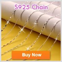 ($10 שילוב הוראות) הסיטוניים אופנה ליידי תכשיטי כסף סטרלינג 925 עגולים קריסטל שרשרת תליון DZ826
