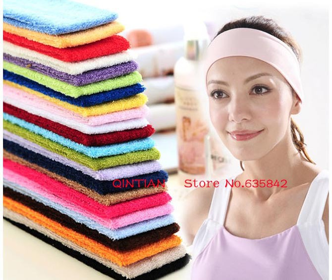 Good quality wholesale Popular fashion candy color sports yoga elastic headband toweling hair lead the hoop<br><br>Aliexpress