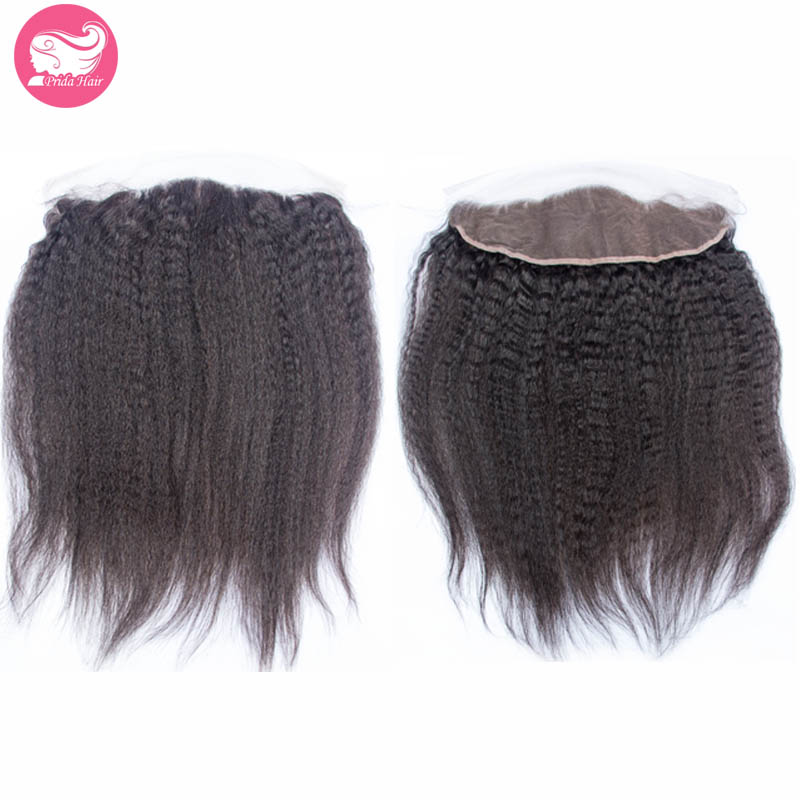 Malaysian Hair Lace Frontal Closure Kinky Straight 7A Human Virgin Hair Lace Frontal 13x4 Ear To Ear Lace Frontal With Baby Hair<br><br>Aliexpress