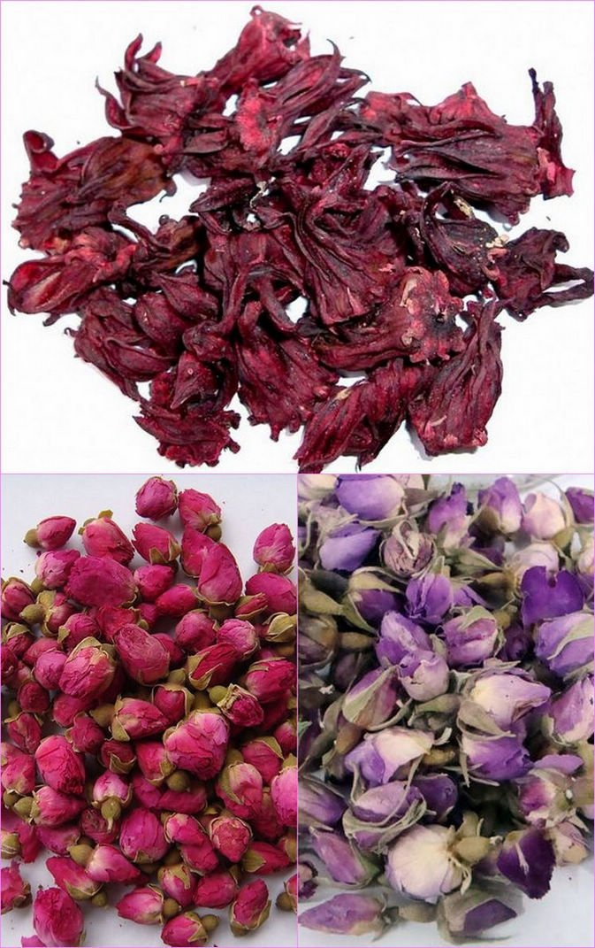 FREE SHIPPING 200g Roselle+200g pink rose bud+ 200g Red Rose bud for beauty and health life<br><br>Aliexpress