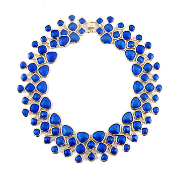 2015 Summer OL Round Necklace Collares Bib lady Choker Simplicity Best-selling 5-colors hk0002(China (Mainland))