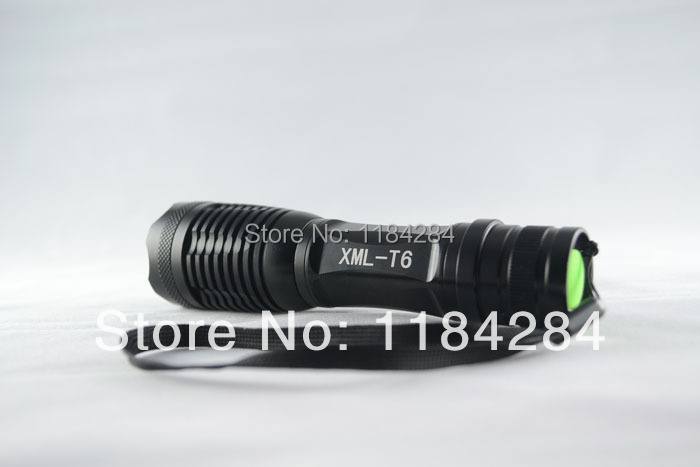 CREE XM-L T6 2000LM cree led Torch Zoomable LED Flashlight light 3xAAA 1x18650 battery- - Pomato Technology Co., Limited store