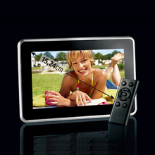 New Fashion 6 inch Mini Digital Photo Frame, Photo, Music & Video Player, Clock & Calendar, Best Gift, Free Shipment.(China (Mainland))