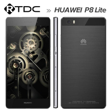 """In stock!Original Huawei P8 Lite 4G LTE Mobile Phone ALE-UL00 Hisilicon Octa Core 2GB RAM 16GB ROM 5.0"""" HD Android 5.0 13MP(China (Mainland))"""