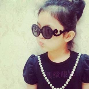 2 шт./лот мальчики и девочки новое милый круглые очки мода дети Gafas 2016 ребенок конфеты цвет очки 8 цвета старинных óculos
