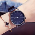 GIMTO Casual Women Watches Vintage Leather Quartz Ladies Watch Clock Fashion Student Girl Wristwatch Relogios Montre