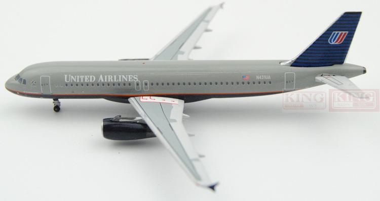 ACN431UA Aeroclassics United Airlines N431UA 1:400 A320 commercial jetliners plane model hobby(China (Mainland))