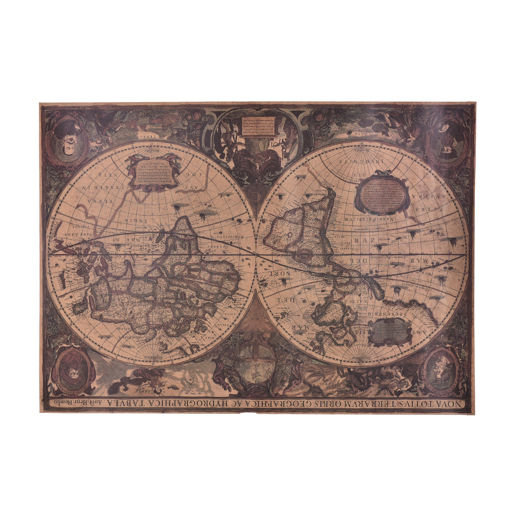 Popular antique nautical chart buy cheap antique nautical for Vintage ocean decor