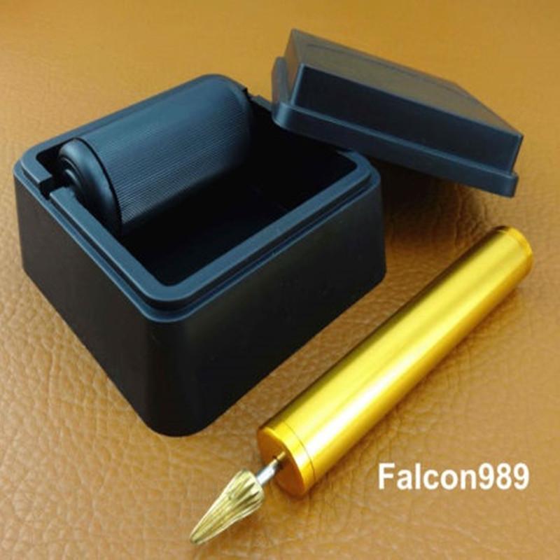 2pcs Leather Craft Table Top Pro Edge Dye Dyeing Roller Applicator Tool Kit Set(China (Mainland))