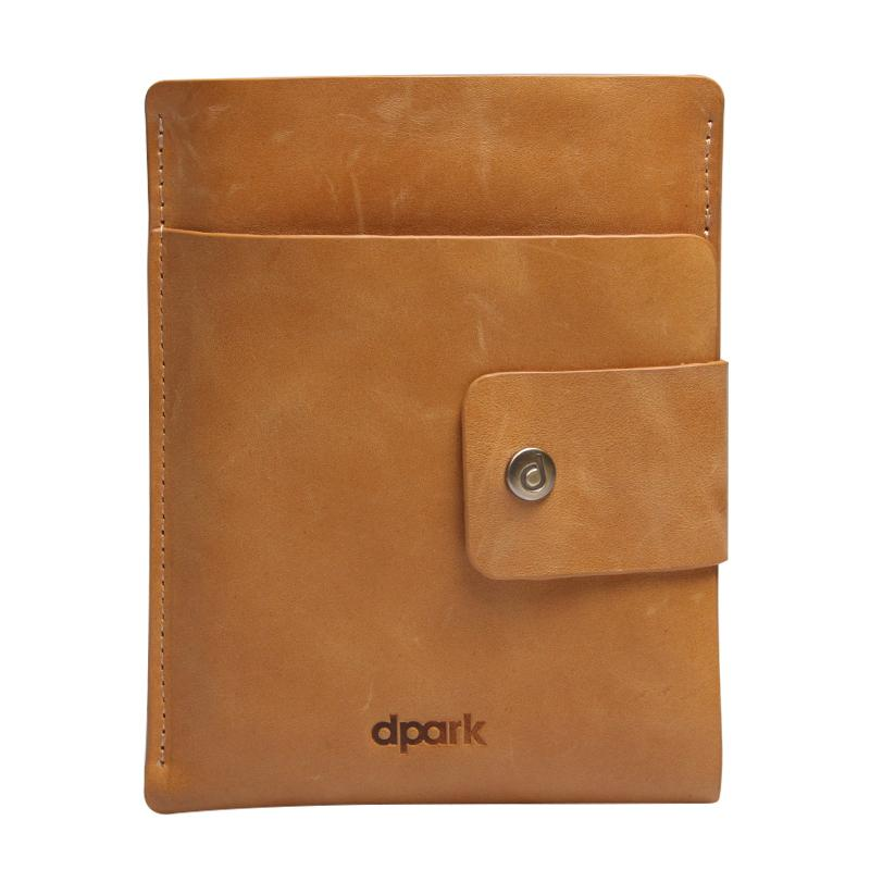 D-park Luxury 100% Genuine Cow Leather Case Blackberry Passport Sliver Edition Pouch Bag Sleeve Cover Card Slot - dpark Online Store store