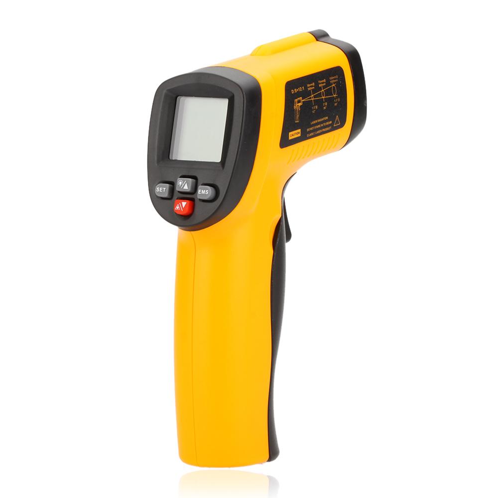 GM550E Digital Infrared IR Thermometer Laser Temperature Gun Tester thermometre infrarouge termometro infravermelho infrarrojo(China (Mainland))