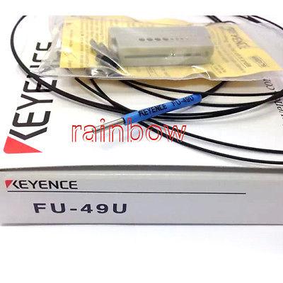 Фотография DHL/EMS 2pcs for KEY-ENCE FU-49U (FU49U) Fiber Amplifier Sensor -D1