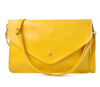 FREE shipping new Fashion women color block messenger handbag briefcase file bag envelope bag day clutch shoulder bag femail