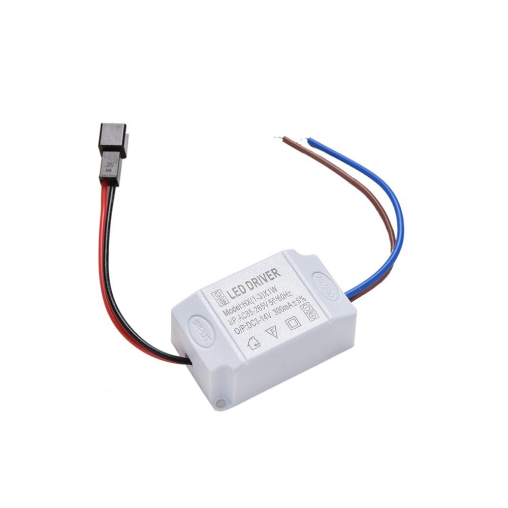 электрическая схема драйвера светодиода 3x1w 220в