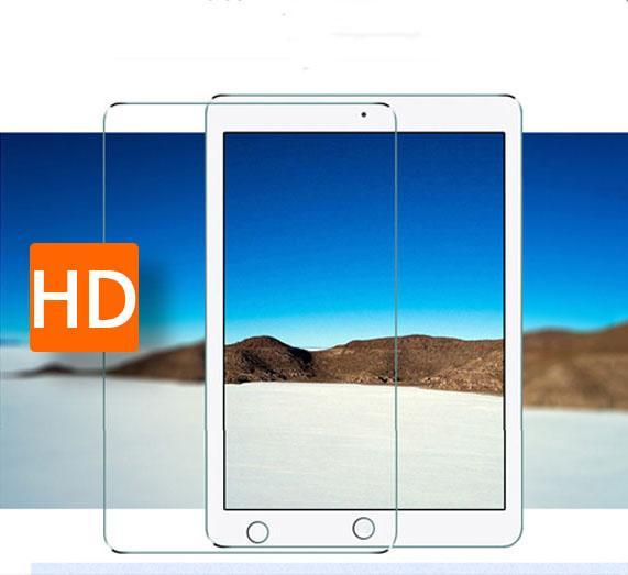 Ultra thin 1pcs Anti Shatter Tempered glass Film for ipad air 2 ipad 6 Tablet PDA Original Explosion-proof Screen Protector film