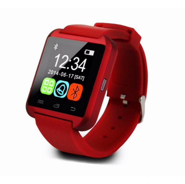 LingTing 3 colors New Sport U8 U80 Bluetooth Smart Wrist Watch Phone Mate For Android IOS